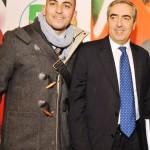 Campagnuolo con il Senatore Maurizio Gasparri